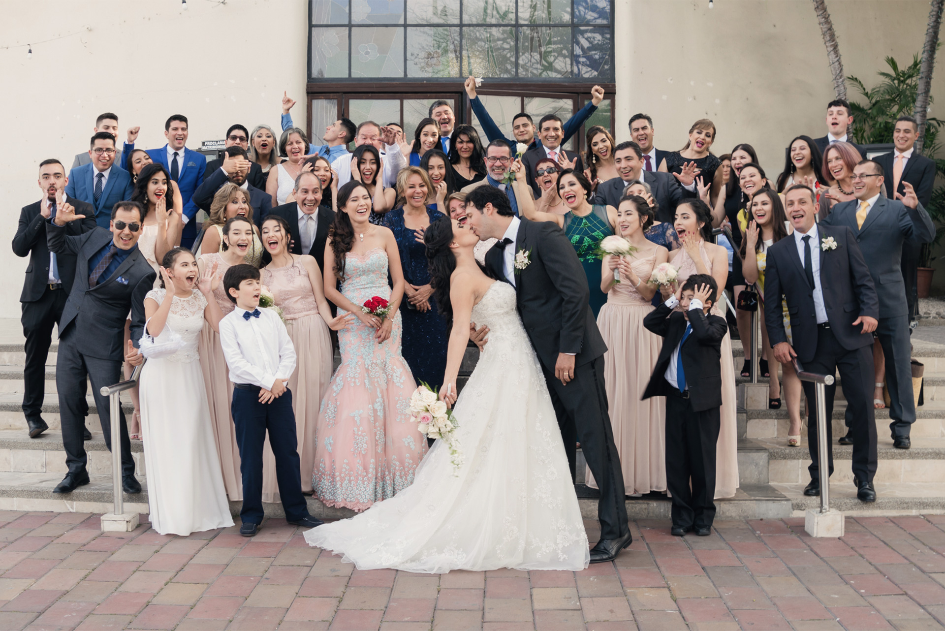 fotografía matrimonio iglesia