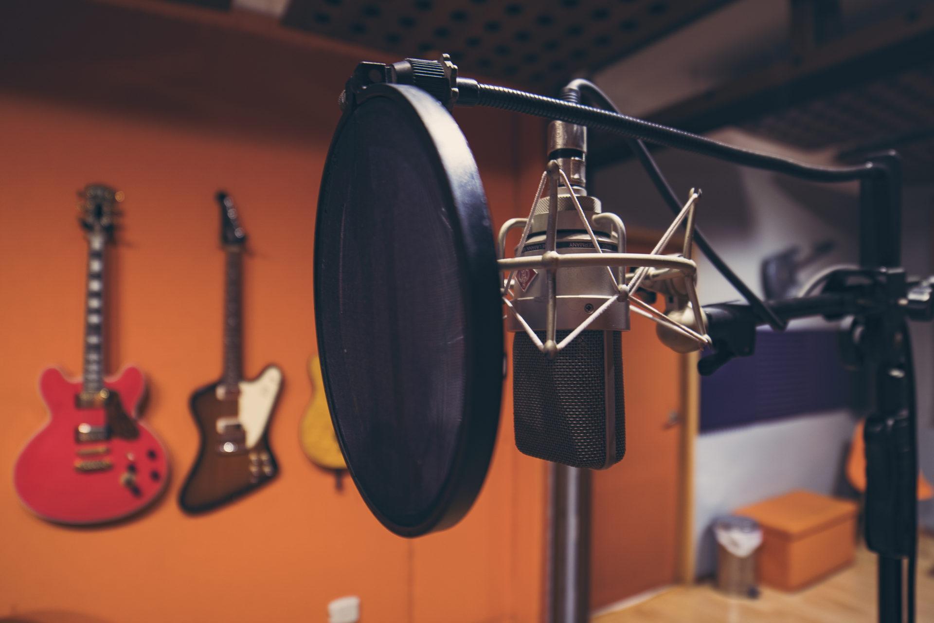 audio publicitario estudio de grabación
